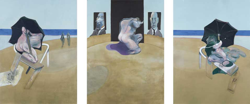 Francis Bacon - Triptych 1974-1977