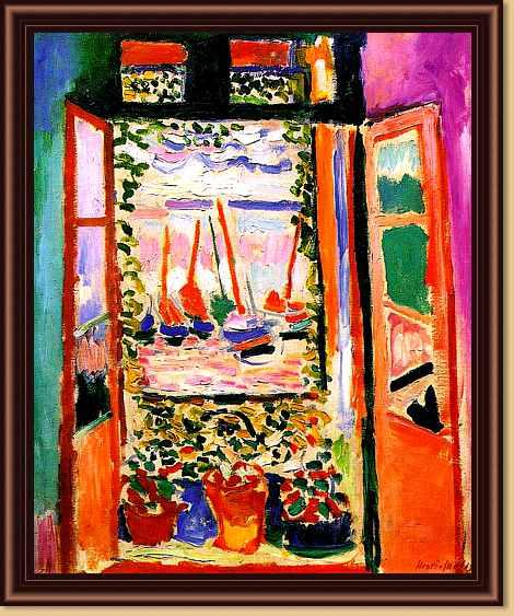 Open window matisse - Pin Henri Matisse The Window Interior With Forget Me Nots